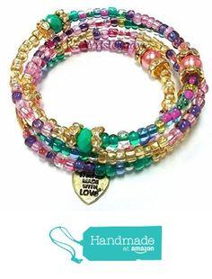 Memory Wire Bracelet,Beaded Bracelet, Colorful Beaded Bracelet, Bracelet Stack, Handmade, Custom, Beaded Jewelry, Women's Jewelry, Women's Bracelet from R&R's Wrist Candy http://www.amazon.com/dp/B016UWXOBS/ref=hnd_sw_r_pi_dp_2u-vwb1XPQK2B #handmadeatamazon