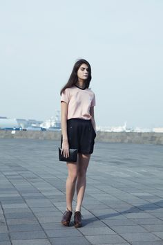 AKIRA NAKA 2012 spring & summer collection look | coromo