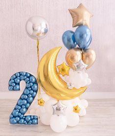 Birthday Balloon Decorations, Birthday Balloons, Baby Shower Decorations, Birthday Parties, Baby Balloon, Love Balloon, Baby Shower Balloons, Qualatex Balloons, Balloon Arrangements