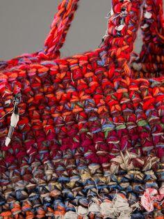 Daniela Gregis Crochet Tote Bag