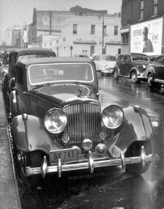 1936 Bentley-Derby Saloon
