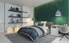 Casinha colorida: 42 quartos que adorei recentemente