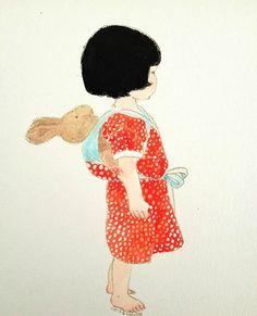 Ilustração de Kinuyo