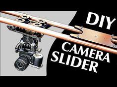 How to Make a Professional Camera Slider DIY!) - Only 40 Pounds cost (no electronics needed) Camera Rig, Camera Hacks, Camera Gear, Dslr Cameras, Photography Projects, Video Photography, Photography Gear, Diy Camera Slider, Professional Camera
