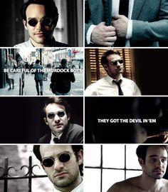 Be careful of the Murdock boys, they got the devil in 'em #daredevil