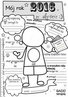 Polish Language, Summer Activities For Kids, Kids And Parenting, Counseling, Preschool, Bullet Journal, Study, Teacher, Scrapbook