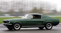 "Steve McQueen and Eleanor – 1968 Ford Mustang GT 390 from ""Bullitt"", 1968"
