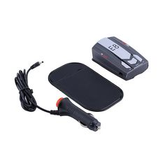 Car Radar detector E8 16 Band 360 Degree with Laser Russian / English warning vehicle speed control detector E dog | Lazada.co.th