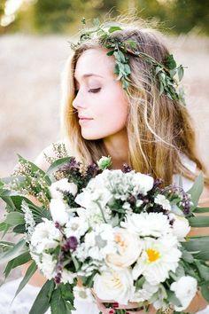 Organic Bohemian Bridal Inspiration