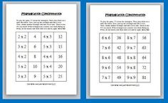 Multiplication Concentration Game
