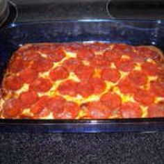 High protein low carb pizza bake. It was so good my husband ate half the pan! http://www.instructables.com/id/Low-carb-high-protein-pizza-with-homemade-sauce/step1/Gather-your-ingredients/?f=m