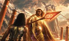 Gideon's Origin: Kytheon Iora Champion of Heliod