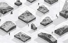 """MENCIÓN DE HONOR. """"The Museum of Lost Volumes"""" por Neyran Turan, Melis Ugurlu, y Anastasia Yee. Fairy Tales 2015. Cortesía de Blank Space. Señala encima de la imagen para verla más grande."""