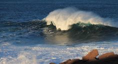 Waves at Cape Spear