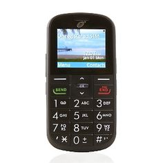 Big Easy Large-Key Cell Phone with 1-Year of TracFone Service at HSN.com. Great for the times I lose my phone!!!