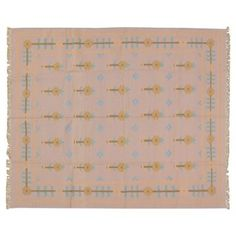"""Check out this item at One Kings Lane! Dhurrie Rug, 8' x 10"""""""