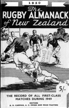 rugby almanack Rugby Poster, All Blacks Rugby, New Zealand Rugby, Sports Posters, Vintage Sport, Vintage Magazines, Cover Art, Awesome, Amazing