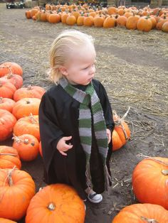 toddler draco malfoy costume - Google Search