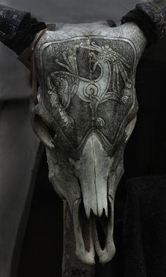 """"""" Carved Skull I \\ Atmosfære on Tumblr """""""