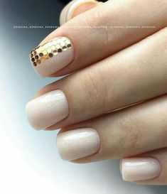 Gold Nails, Silver Roses, Nail Art, Beauty, Enamels, Beleza, Nail Arts, Cosmetology, Gold Nail