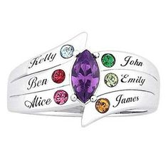 15 Best Mothers Rings Images Mother Rings Birth Stones Birthstones