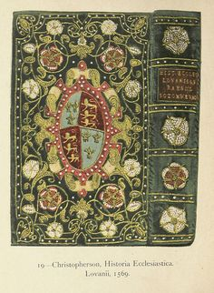 English Embroidered Bookbindings (1899) by Cyril James Davenport (1848-1941).