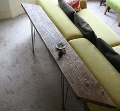 Cool idea for behind a lounge
