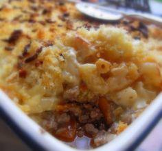 The English Kitchen: Macaroni Shepherd's Pie