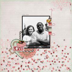 Quick Page Set #8: Love Me Bundle #1