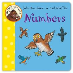 My First Gruffalo: Numbers by Julia Donaldson, Axel Scheffler Axel Scheffler, Gruffalo's Child, Room On The Broom, Buying Books Online, Spanish Teaching Resources, Animal Action, The Gruffalo, Little Library, Hands On Activities