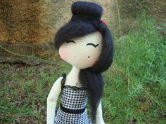 Boneca de Pano Amy Winehouse