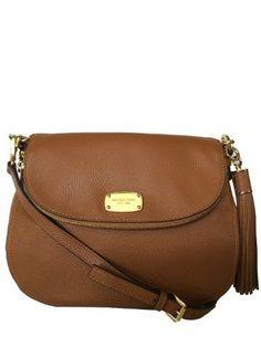 522754f33505 MICHAEL Michael Kors Bedford Medium Tassle Convertible Luggage Shoulder Bag