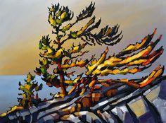 Title: Season of mist by Jerzy Werbel Acrylic on canvas 30x40