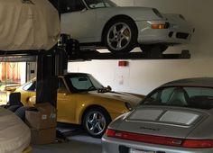Random 993 Picture Thread - Page 116 - Rennlist Discussion Forums Porsche 993, Porsche Carrera, Garage Lift, Garages, Game Room, Super Cars, Ali, German, Random