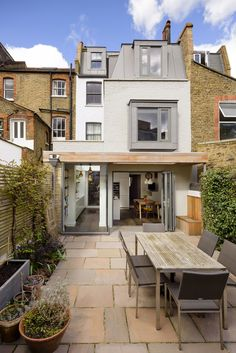15 Classy Kitchen Extension Ideas You Can Steal To Suit Yourself is part of Victorian terrace house - Need some kitchen extension ideas Here's 15 of the classiest kitchen extensions in the UK so you can get some inspiration for your kitchen extension! House Extension Design, Roof Extension, House Design, Extension Ideas, Side Return Extension, Pergola With Roof, Patio Roof, Pergola Kits, Pergola Plans