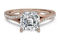 Modern Bypass Micropavé Diamond Band Engagement Ring – 2490 | Ritani Engagement Rings and Wedding Rings