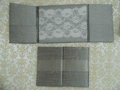 silver lace folio
