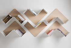 Fishbone by B-Line Shelving