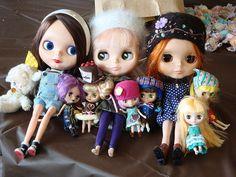 Dolls with their own dolls!,