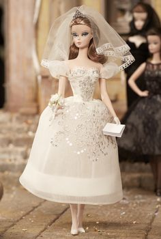 Discover the best selection of Barbie Fashion Dolls at the official Barbie website. Shop for the latest Fashionistas, Barbie Look & other dolls today! Barbie Wedding Dress, Wedding Doll, Barbie Dress, Barbie Clothes, Wedding Dresses, Wedding Bride, Ivory Wedding, Barbie 2014, Barbie Blog