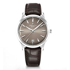 Zenith Captain Central Second Stainless Steel Wristwatch