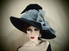 Witch Hat Gray Skies by EvercrumblyAndWitch on Etsy