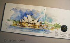 Liz Steel: Sketchbooks