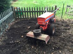 Gravely 5665 with cultivator