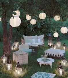 Laternen, Lampions und Lampen zur Dekoration. Mit Inspiration von: www.HarmonyMinds.de
