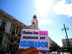¡Todos los días merecen ser celebrados! #EscribiendoUnAbrazo #abrazoescrito #abrazo #Madrid