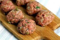 Ouzo meatballs