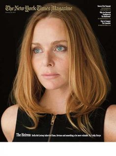 "New York Times Mag (US)  Received a much better pic so here it is again :)  Great portret from Stella McCartney by Damon Winter on this new cover New York Times Mag: ""The Heiress""    New York Times Mag also carrie a great blog; ""The 6th Floor, where staff members — editors, designers, writers, photo editors and researchers — share ideas, arguments, curiosities and links.""     Hugo Lindgren: editor  Arem Duplessis: Design Director  Gail Bichler: Art Director  Kathy Ryan: Director of…"