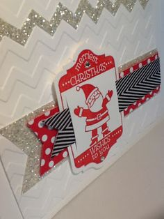 Jan Girl: Stampin' Up Tag It Santa