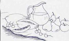 pintura em tecido mamão - Pesquisa Google
